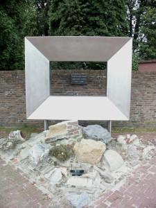 RVS maatwerk openbaar: Kunstwerk lijst ter herdenking