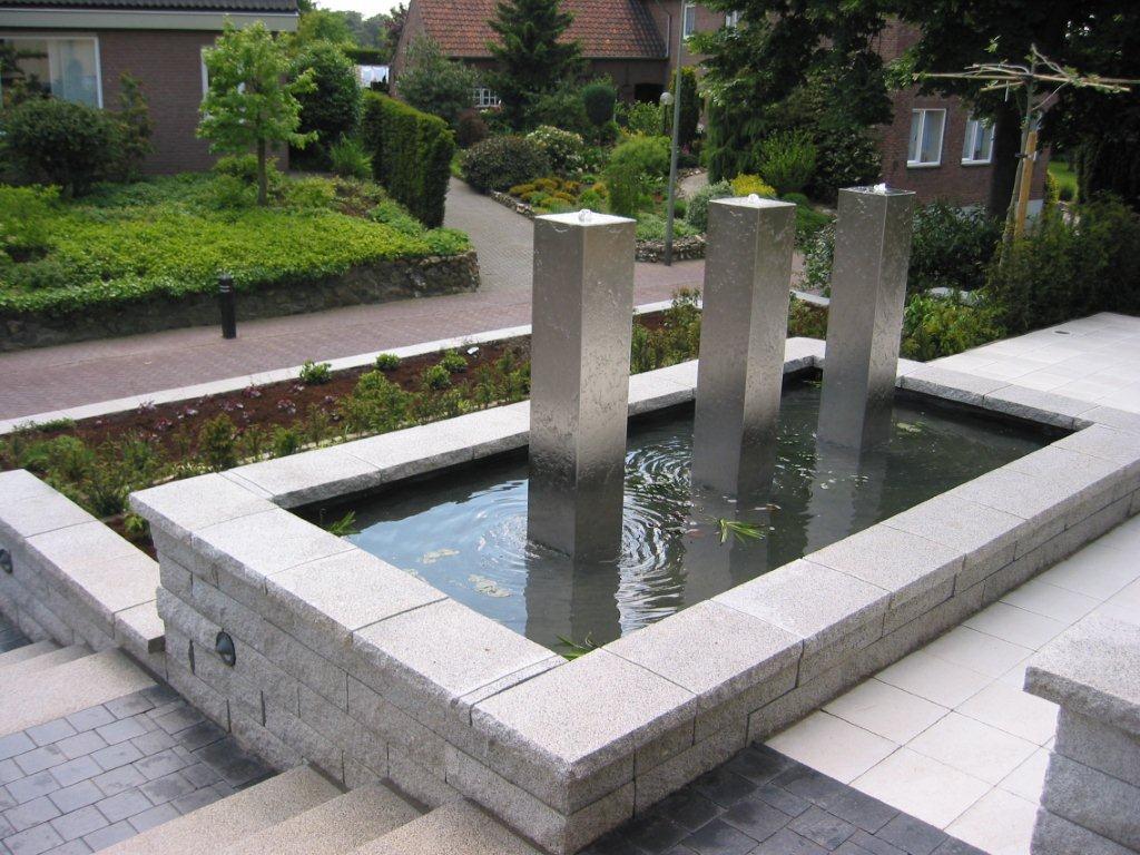 Design Fontein Tuin.Gardinox Roestvast Stalen Tuin Park En Straatinrichting