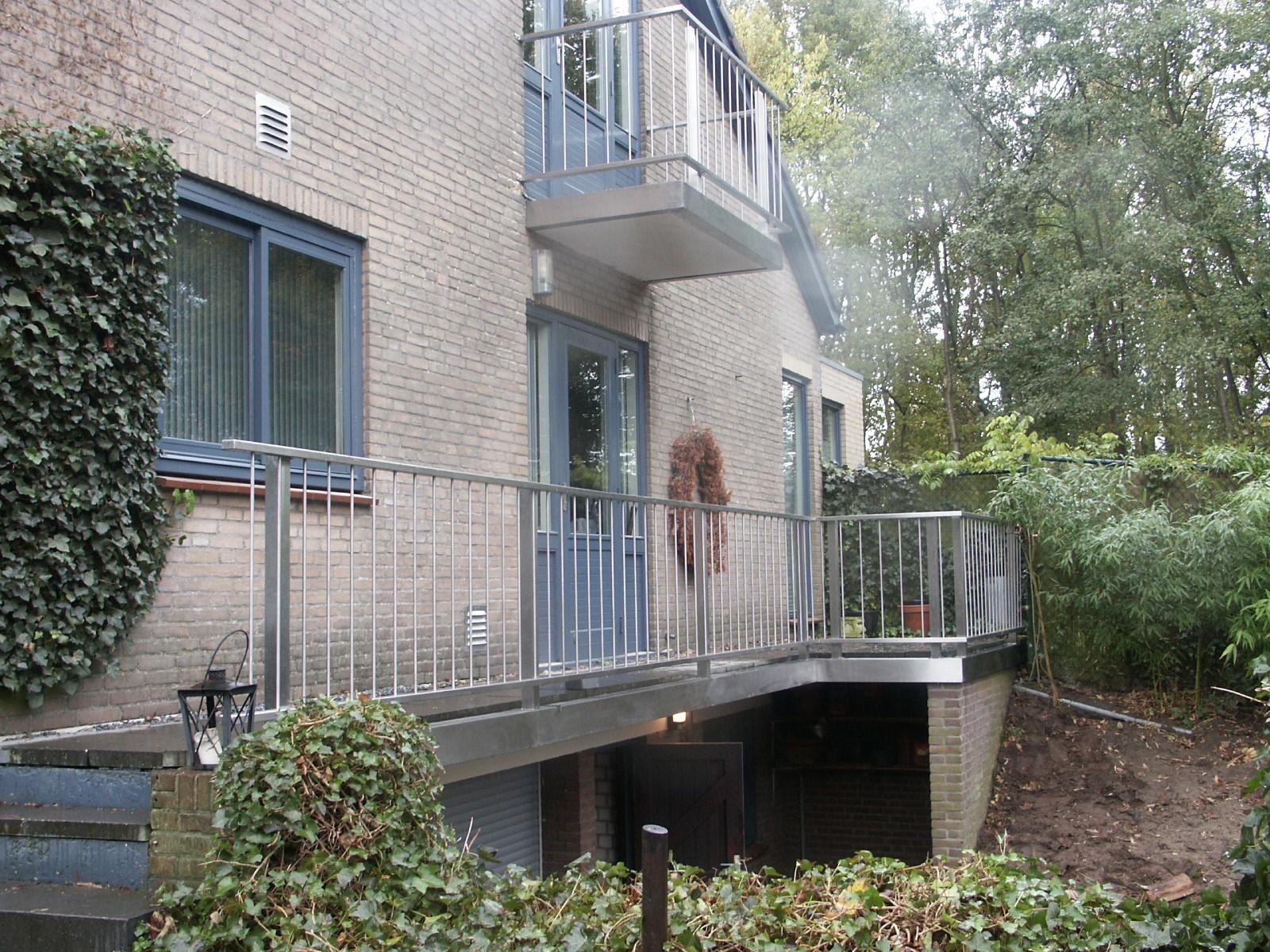 Rvs balustrade en balkonhek   gardinox bv