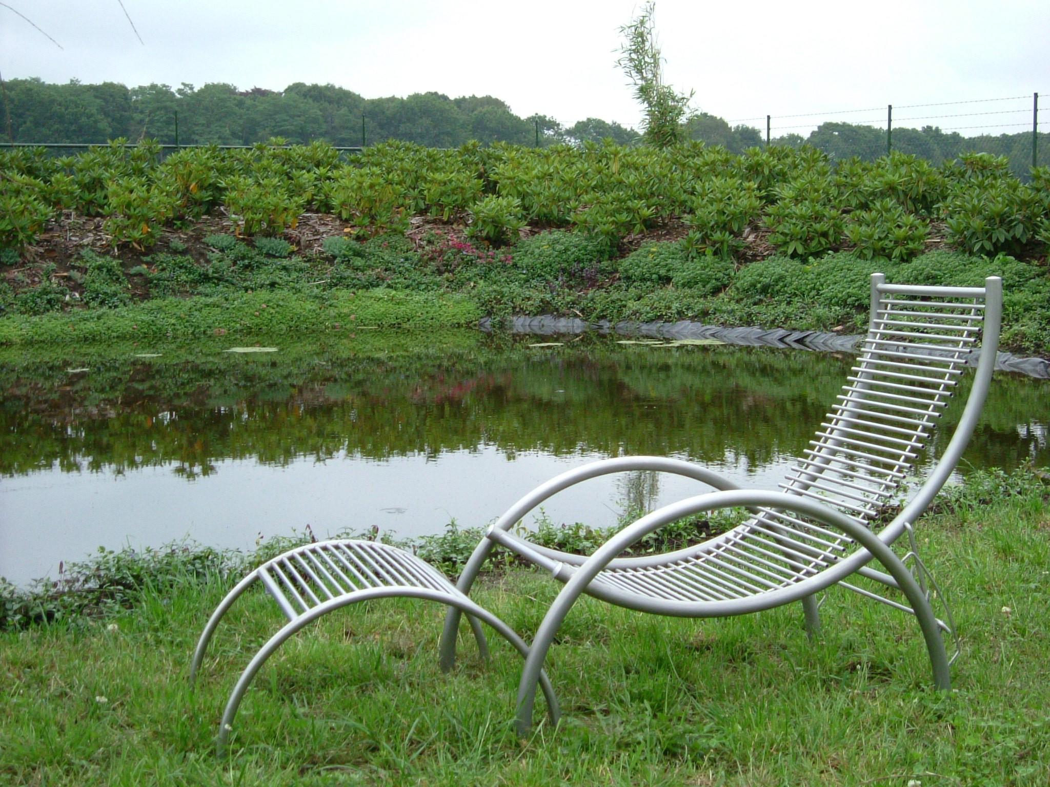 Ligstoel rieleks gardinox bv for Ligstoel buiten