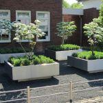Plantenbakken met sprong en LED verlichting