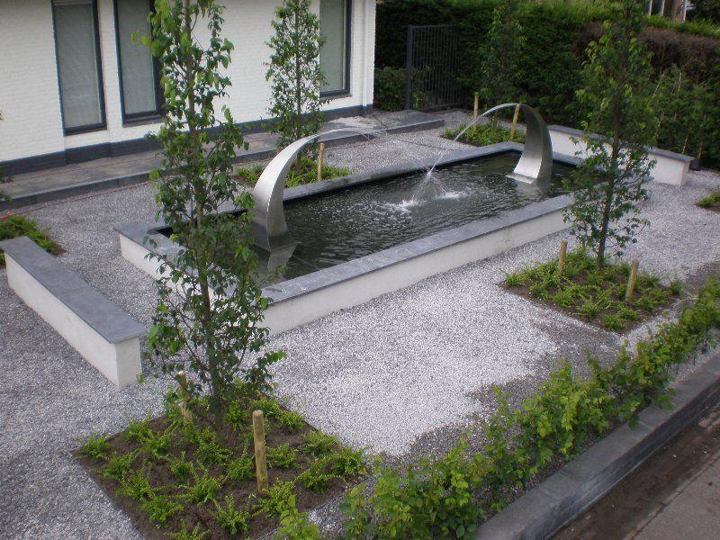 2x fontein tusk groot bij particulier gardinox bv for Vijverbak groot