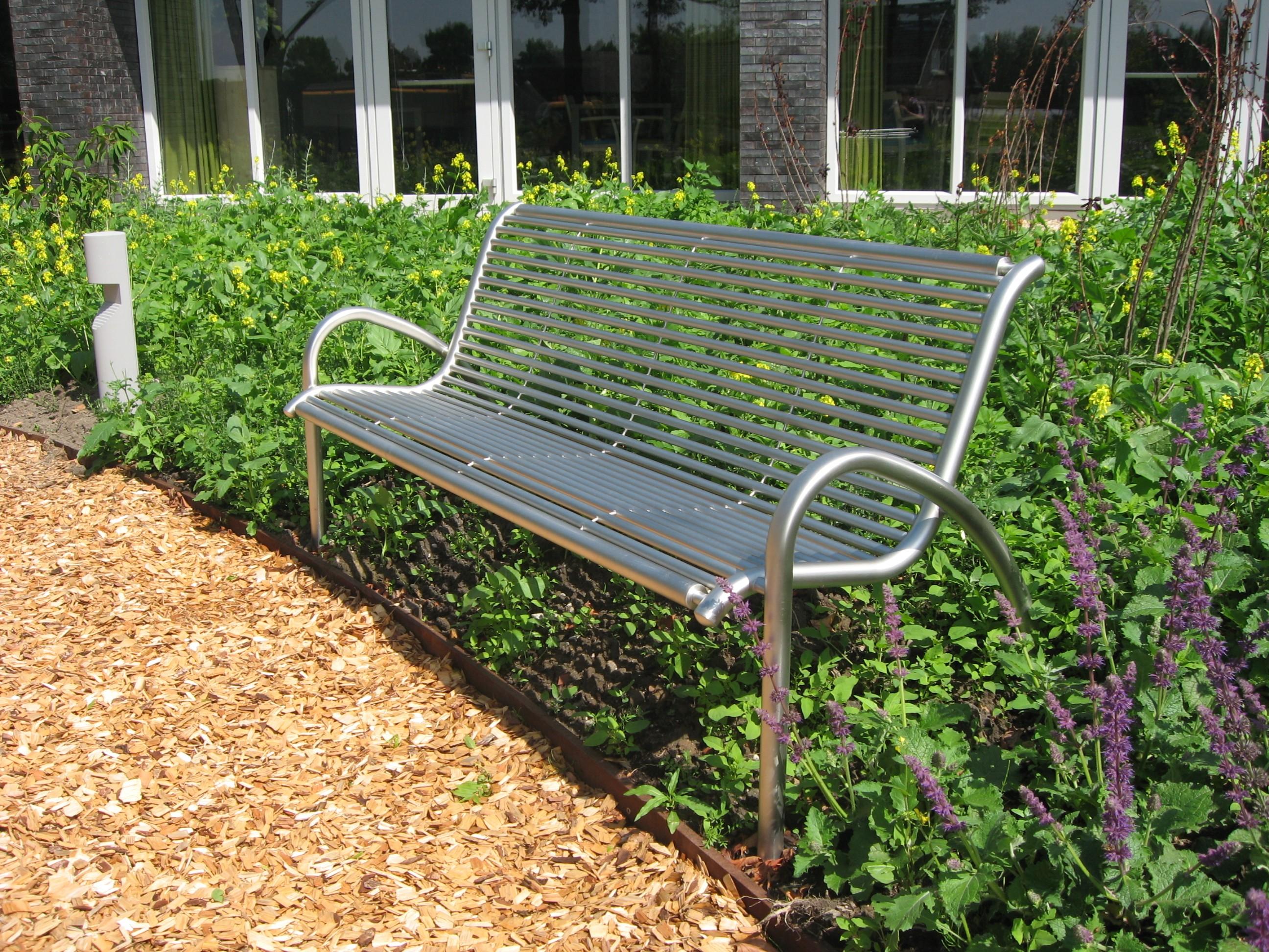 Hedendaags Gardinox, roestvast stalen tuin-, park- en straatinrichting TY-12
